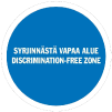 Logo of Discrimination-Free Zone